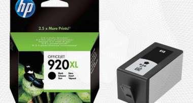 Картридж струйный HP 920XL CD975AE чер. пов.емк. для OJ 6000