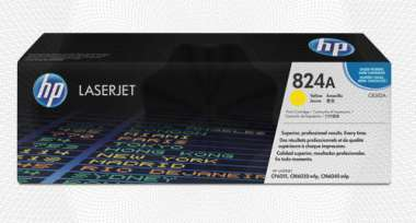 Расход.матер. д/лаз.принт.факсов HP 824A CB382A жел. для CLJ CP6015/CM6030