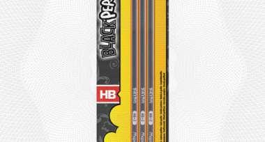 Карандаш MAPED 851711 трехгранный HB с ластиком, 3шт/уп