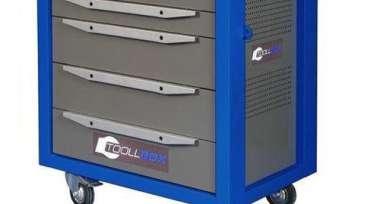 Метал.Мебель TOOLBOX TBS-5 тележка инструм. 5 ящ. 468x800x775
