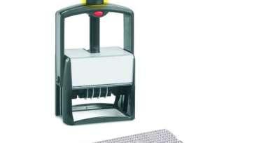 Датер автоматический самонаб.металл. S2860-Bank-Set дата ЦИФР.10-стр. 49х68мм