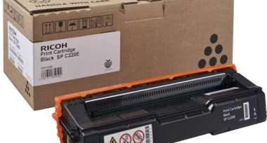Расход.матер. д/лаз.принт.факсов Ricoh SP C220 (406052) чер. для SPС220S/C221S