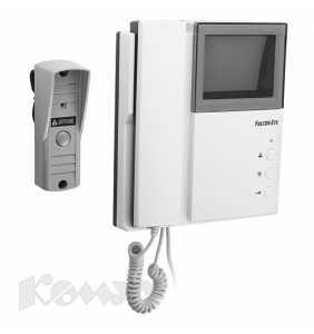 Видеодомофон комплект Falcon Eye FE-4HP2 /AVP-505 (выз. панель в компл.)