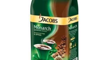Кофе Jacobs Monarch в зернах 1кг пакет