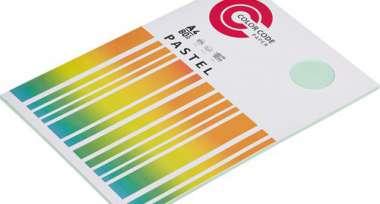 Бумага для ОфТех Набор цветной бумаги (зеленая пастель), 80гр, А4, 50 листов