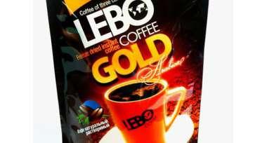 Кофе растворимый LEBO GOLD 100г пакет