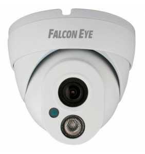 Видеокамера FE-IPC-DL100P (1Мп, бел, купол)