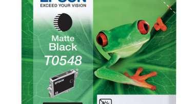 Картридж струйный Epson T0548 C13T05484010 чер. мат. для St Photo R800
