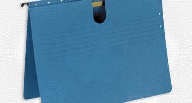 Подвесная регистратура скорос-тель LEITZ-198435 ALFA, синий Германия