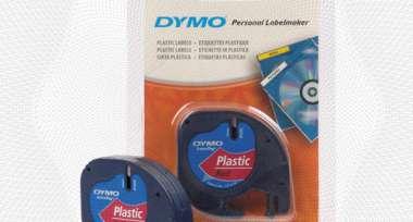 Картридж к этикет-принтеру DYMO S0721630 12ммх4м чер/крас пл. для Letra Tag