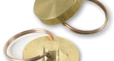 Печать металлическая, диаметр 24мм, латунь